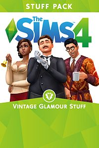 Carátula del juego The Sims 4 Vintage Glamour Stuff