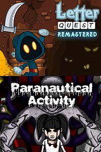 Carátula del juego Letter Quest/Paranautical Activity Bundle de Xbox One
