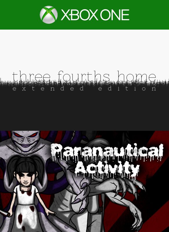 Three Fourths Home: Extended Edition/ Paranautical Activity Bundle boxshot