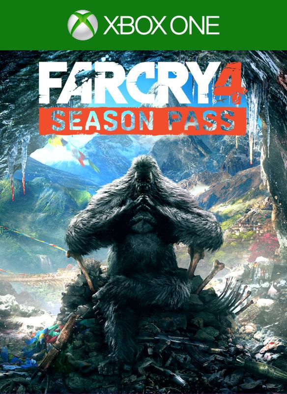 Far Cry 4 Season pass boxshot