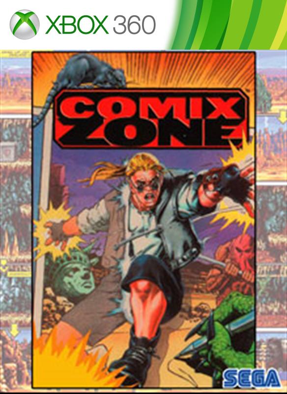 Comix Zone boxshot