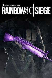 Carátula del juego Tom Clancy's Rainbow Six Siege : Amethyst Weapon Skin