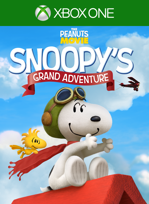 The Peanuts® Movie: Snoopy's Grand Adventure boxshot