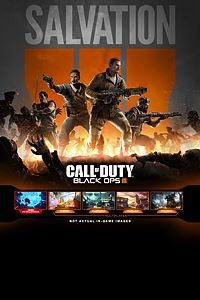 Carátula del juego Call of Duty: Black Ops III - Salvation DLC de Xbox One