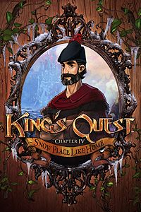 Carátula del juego King's Quest - Chapter 4: Snow Place Like Home
