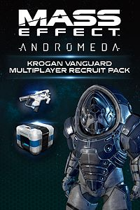 Carátula del juego Mass Effect: Andromeda - Krogan Vanguard Multiplayer Recruit Pack de Xbox One