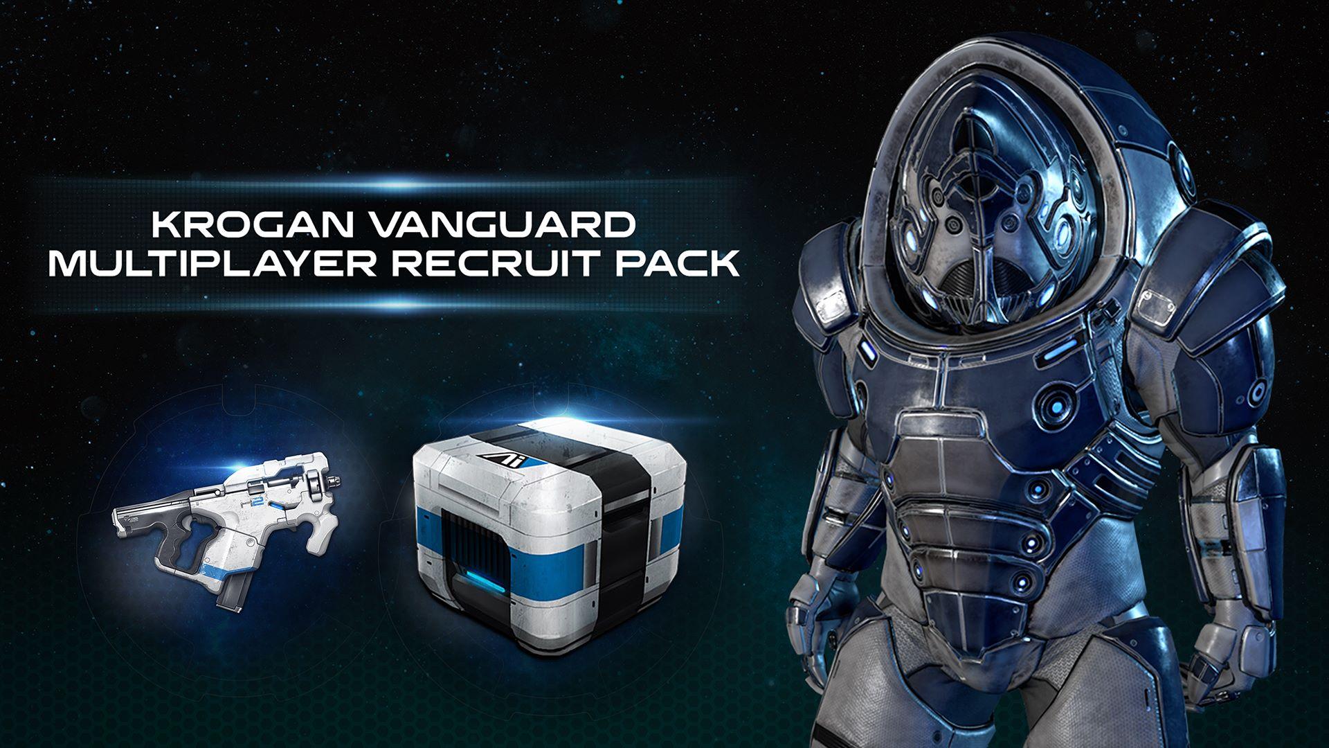 Mass Effect™: Andromeda - Paquete multijugador de recluta vanguardia krogan