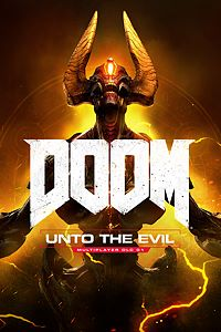 Carátula del juego DOOM: Unto the Evil de Xbox One