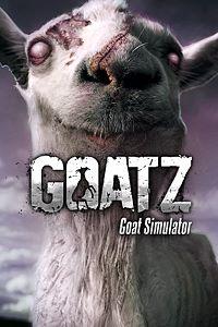 Carátula para el juego Goat Simulator: GoatZ de Xbox 360