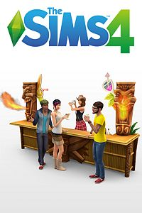 Carátula del juego The Sims 4 Life of the Party Digital Content