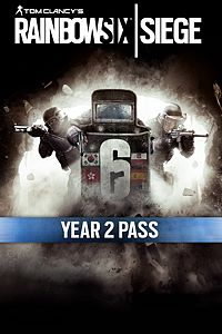 Carátula del juego Tom Clancy's Rainbow Six Siege Year 2 Pass de Xbox One