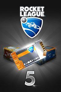 Carátula del juego Rocket League – Crate Unlock Key x5 de Xbox One