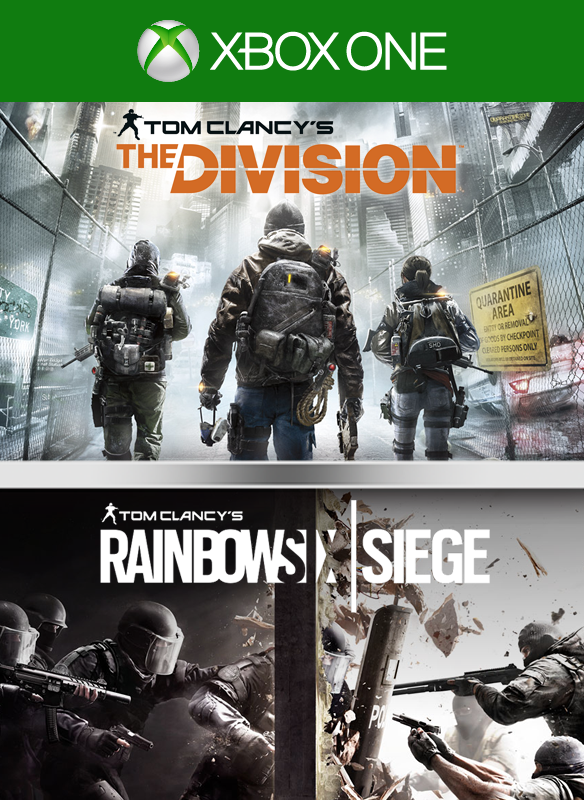Tom Clancy's The Division + Rainbow Six Siege Pack boxshot
