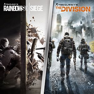 TOM CLANCY'S RAINBOW SIX SIEGE + THE DIVISION-PAKKE Xbox One