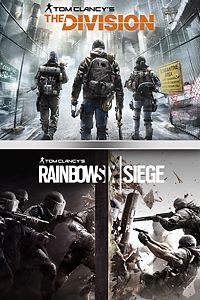 Carátula para el juego TOM CLANCY'S RAINBOW SIX SIEGE + THE DIVISION BUNDLE de Xbox 360