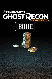 Carátula del juego Tom Clancy's Ghost Recon Wildlands - Credit : Base Pack 800 GR CREDITS