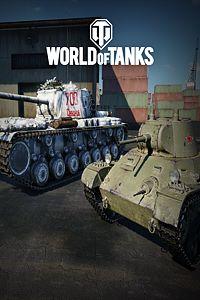 Carátula del juego World of Tanks - Verzila KV-4K & T-127
