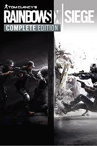 Carátula para el juego Tom Clancy's Rainbow Six Siege Complete Edition de Xbox One