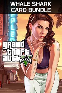 Carátula para el juego Grand Theft Auto V & Whale Shark Cash Card Bundle de Xbox 360
