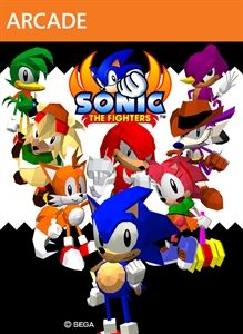 Sonic the Fighters Art