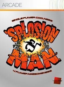 Splosion Man Art