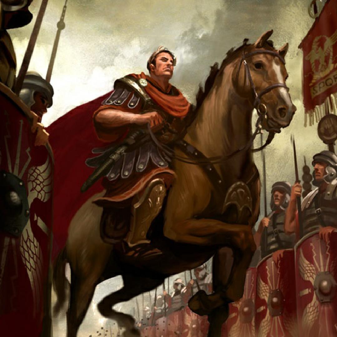 Картинки цезаря на коне