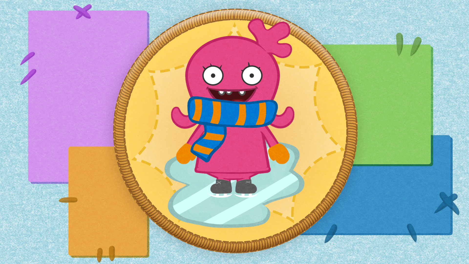 Icon for Ice skating. Whee!